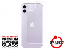 Brando Workshop Premium Tempered Glass Protector (Rounded Edition) (iPhone 11 (6.1) - Back Cover)