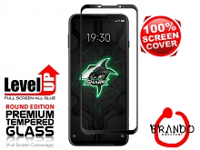 Brando Workshop Full Screen Coverage Glass Protector (Xiaomi Black Shark 3) - Black