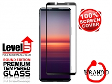 Brando Workshop Full Screen Coverage Glass Protector (Sony Xperia 5 II) - Black