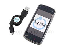 Brando Workshop Retractable SyncCharger Cable (Micro USB)