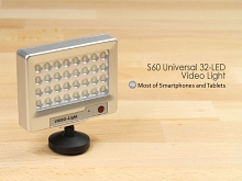 S60 Universal 32-LED Video Light