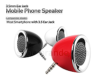 3.5mm Ear Jack Mobile Phone Speaker