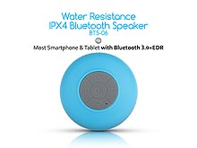 Water Resistance IPX4 Bluetooth Speaker BTS-06