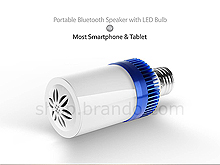 Portable Bluetooth Speaker with LED Bulb