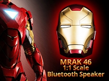 MARVEL Iron Man Mark 46 1:1 Scale Bluetooth Speaker