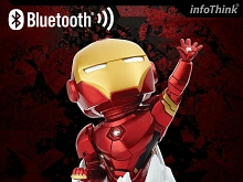 infoThink Iron Man Bluetooth Speaker