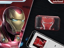 infothink AVENGERS - ENDGAME Series Portable Bluetooth Speaker (Iron Man)