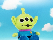 infoThink Toy Story 4 Series Plush Doll Bluetooth Speaker - Alien