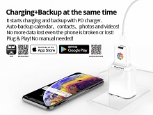 PhotoFast PhotoCube C Type-C Charging & Backup (For iOS & Android)
