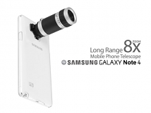 Samsung Galaxy Note 4 Long Range Mobile Phone Telescope - 8x Zoom