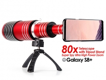 Samsung Galaxy S8+ Super Spy Ultra High Power Zoom 80X Telescope with Tripod Stand