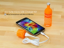 Absolute micro USB Charger Kit