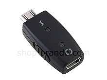 Mini USB to Micro USB Adapter w/ ON/OFF switch