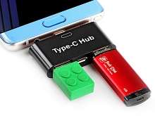 Type-C 2-Port OTG Hub Adapter