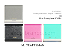 M.Craftsman HARMONIE - Luxury Portable Charger 7800mAh