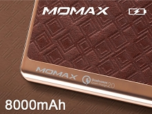 Momax iPower Elite+ QC2.0 Power Bank - 8000mAh
