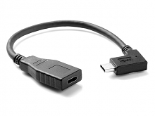 USB 3.1 Type C (90°) Extension Cable