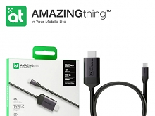 AMAZINGthing Supreme Link Type-C to 4K HDMI Cable (2019 Edition)