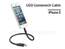 USB Gooseneck Cable for iPhone 5