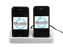 iPhone Twin Power Charger Cradle