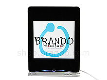 iPad Changer Cradle with Fold Stand