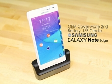 OEM Samsung GALAXY Note Edge Cover-Mate 2nd Battery USB Cradle
