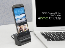 OEM HTC One M9 Cover-Mate USB Cradle