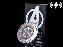 Marvel Iron Man ARC Reactor Wireless Charger Stand