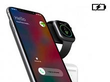 JDS 3-In-1 Fast Wireless Charger Stand