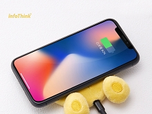 infoThink Disney Series Booty Wireless Charging Pad - Winnie the Pooh