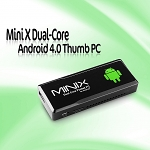 Mini X Dual-Core Android 4.0 Thumb PC