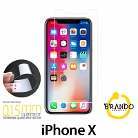 Brando Workshop 0.15mm Premium Tempered Glass Protector (iPhone X)