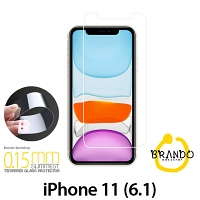 Brando Workshop 0.15mm Premium Tempered Glass Protector (iPhone 11 (6.1))