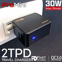 Magic-Pro ProMini 2TPD 30W PD Travel Charger