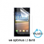 Brando Workshop Anti-Glare Screen Protector (LG Optimus L5 E610)