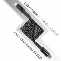 AMAZINGthing Supreme Link Bullet Shield Lightning to Type-C Cable