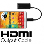 HDMI output cable ( MHL cable ) for Samsung Galaxy S III I9300