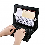 The new iPad (2012) / iPad 2 Case with Bluetooth Keyboard