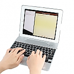 M3 Bluetooth Keyboard Case for The new iPad (2012)