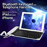 The new iPad (2012) Bluetooth Keyboard w/ Telephone Handset