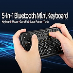 5-in-1 Bluetooth Mini Keyboard