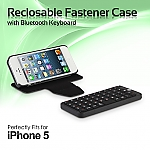 iPhone 5 Reclosable Fastener Case with Bluetooth Keyboard