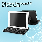The new iPad (2012) Wireless Keyboard