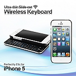 iPhone 5 Ultra-thin Slide-out Wireless Keyboard
