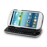 Samsung Galaxy S III I9300 Ultra-thin Slide-out Wireless Keyboard