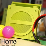 iHome BOOM Series - Bluetooth Wireless Rechargeable Boombox with FM Radio