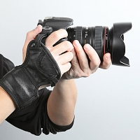 Ultimate 3-Point Hand Strap for DSLR and Camcorders with Wrist Support