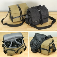 DSLR Camera/Lens Protective Side Bag + Small Accessories Pockets