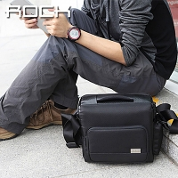 ROCK Multifunction Shoulder Camera Bag - L Size
