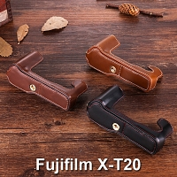 Fujifilm X-T20 Half-Body Leather Case Base
